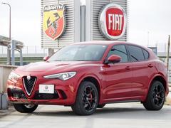 アルファロメオ ステルヴィオクアドリフォリオ 新車保証継承 バックカメラ 電動リヤハッチ
