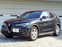 ステルヴィオ2.2ターボディーゼルQ4 赤レザー内装 新車保証継承