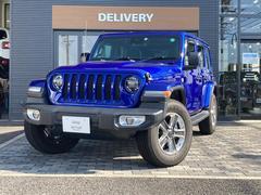 ジープ・ラングラーアンリミテッドサハラ Jeep認定中古車 新社保証継承、2.0Lターボエンジン 純正カーナビ AppleCarplay バックカメラ レーダークルーズコントロール ETC 現行モデル