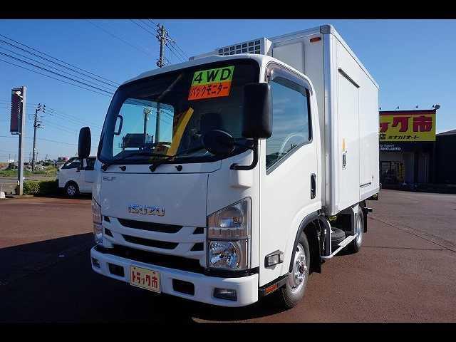 いすゞ エルフトラック 1.85t 4WD FFL 標準 中温冷凍車
