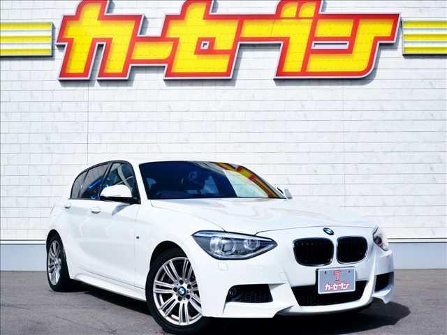 BMW 116i Mスポーツ 衝突軽減ブレーキ/純正HDDナビ 衝突軽減ブレーキ/純正メーカーHDDナビ/ミュージックサーバー/アイドリングストップ/クルーズコントロール/HIDヘッドライト/スマートキー/EGプッシュスタート/ETC/純正17インチAW