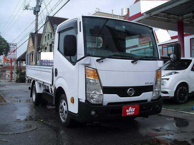 沖縄県の中古車ならアトラストラック シングルキャブ 標準 フルスーパーロー 扁平ダブル 木製