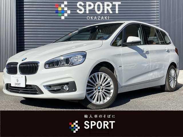 BMW 2シリーズ 220i Luxury RHD アクティブクルーズ インテリジェントセーフティ 純正HDDナビ バックカメラ ブラウンレザーシート シートヒーター・メモリー HIDヘッドライト パワーバックドア ミラーインETC