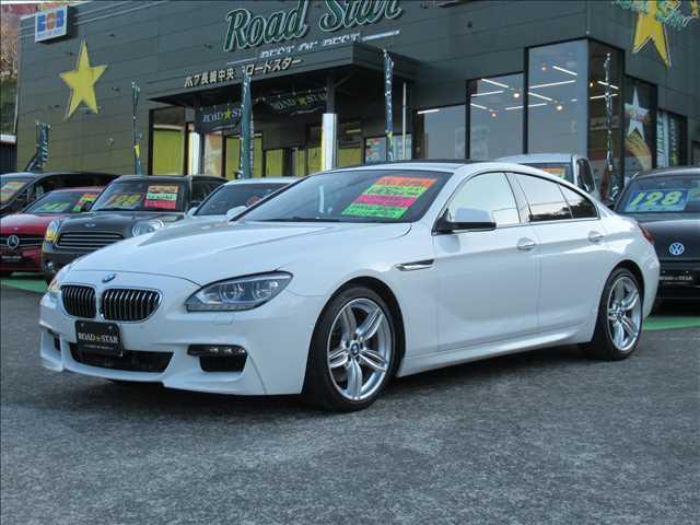 BMW 6シリーズ 640iグランクーペ Mスポーツパッケージ 保証付 1オーナー 禁煙車 サンルーフ レザーシート 純正HDDナビ バックカメラ パワーシート シートヒーター 純正アルミホイール オートライト オートクルーズコントロール ディーラー車