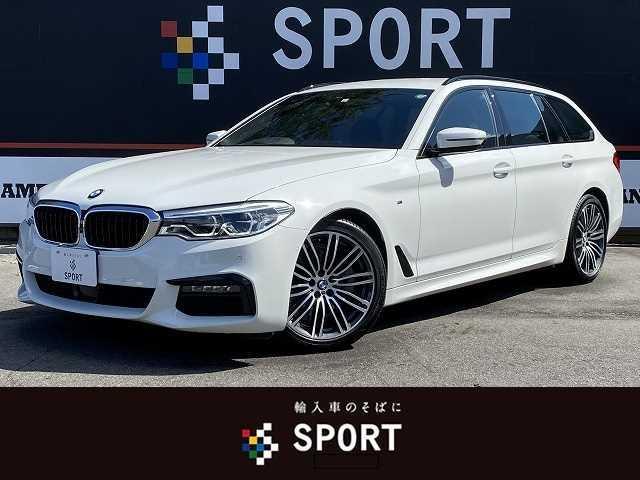 BMW 523iツーリング Mスポーツ アクティブクルーズコントロール インテリジェントセーフティー HDDナビフルセグ 全周囲カメラ パワーシート 電動リアゲート DVD再生 ブルートゥース