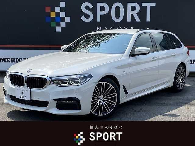 BMW 523iツーリング Mスポーツ アクティブクルーズコントロール インテリジェントセーフティー HDDナビフルセグ 全周囲カメラ パワーシート 電動リアゲート スマートキー オートライト