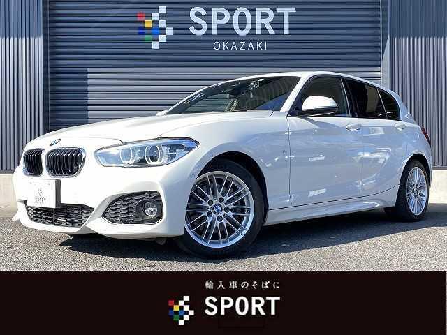 BMW 1シリーズ 118d MSport ディーゼル インテリジェントセーフティ 純正HDDナビ Bカメラ クルーズコントロール LEDヘッドライト Bluetooth プッシュスタート 純正アルミホイール ミラーインETC