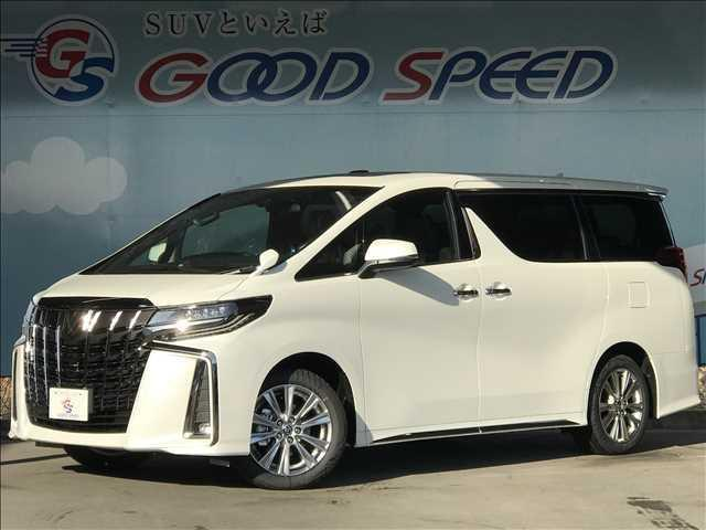 トヨタ 2.5S タイプゴールド 新車未登録 サンルーフ 両側パワスラ 電動トランク バックカメラ コーナーセンサー レーダークルコン