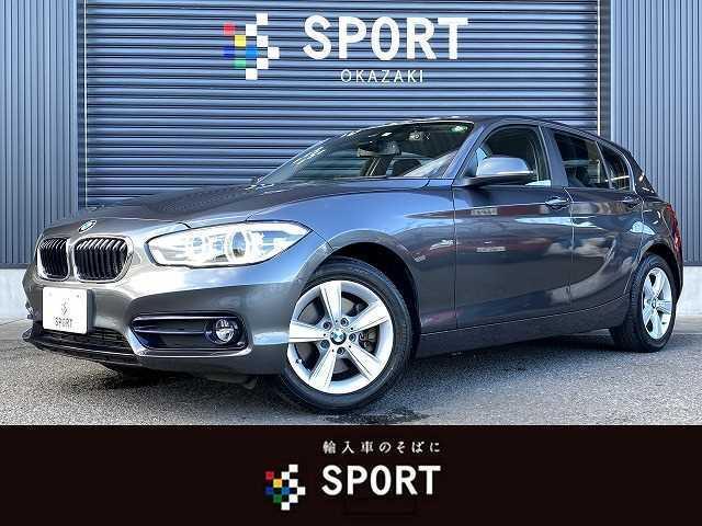 BMW 118d スポーツ 純正HDDナビ Bカメラ インテリジェントセーフティ LEDヘッドライト ミラーインETC 純正アルミホイール クルーズコントロール