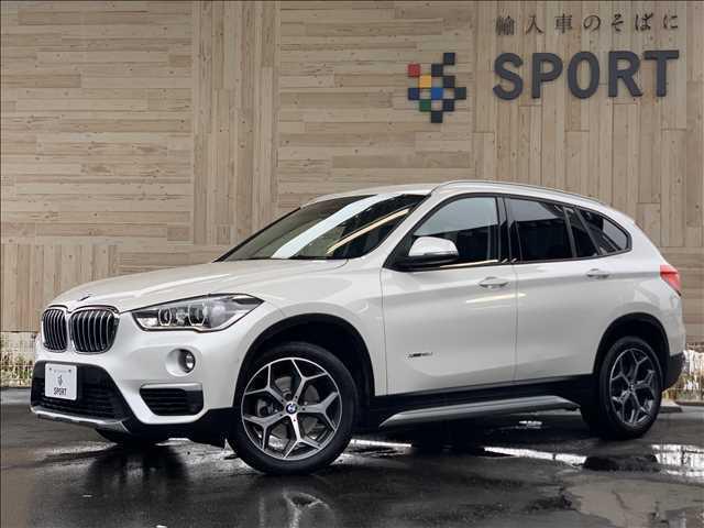 BMW xDrive 18d xライン インテリセーフ 純正ナビ バックカメラ ハーフレザー シートヒーター パワーバックドア LEDヘッドライト コンフォートアクセス ミラーインETC 純正アルミホイール
