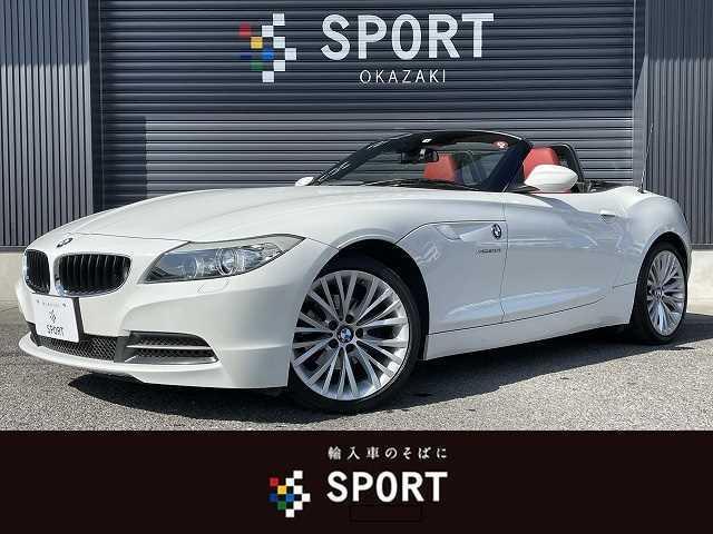 BMW Z4 sDrive20i ハイラインパッケージ 純正HDDナビ 赤革 シートヒーターメモリー HIDヘッドライト パドルシフト 純正アルミホイール ミラーインETC