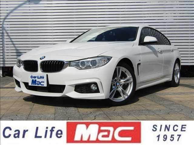 BMW 4シリーズ 420iグランクーペ Mスポーツ Mスポ アダプティブクルーズコントロール インテリジェントセーフティ コンフォートアクセス HDDナビ フルセグ DVD再生 Bluetooth Bカメ 障害物センサー Iストップ HIDヘッド