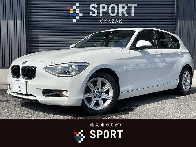 BMW ◆116i 5R ユーザー様買取 純正HDDナビ HID リミッター オートライト ETC 純正アルミホイール プッシュスタート CD DVD
