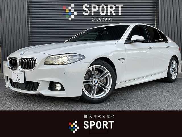 BMW 5シリーズ 523d M Sport サンルーフ レーンディパーチャー アダプティブクルーズコントロール インテリジェントセーフティ 純正ナビ フルセグTV バックカメラ 純正アルミホイール HIDヘッドライト ミラー型ETC