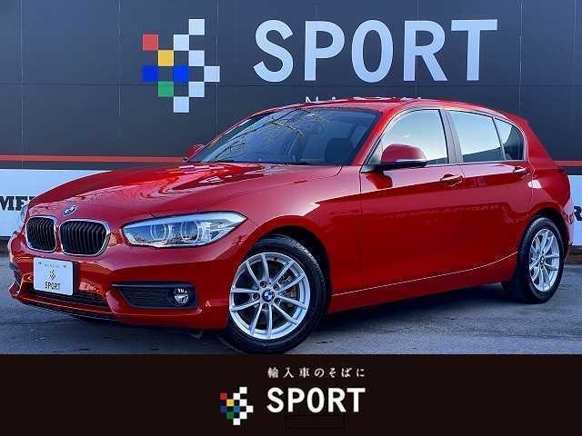BMW 118i ワンオーナー 禁煙車 純正HDDナビ プッシュスタート キーレスキー ミラーインETC LEDヘッドライト
