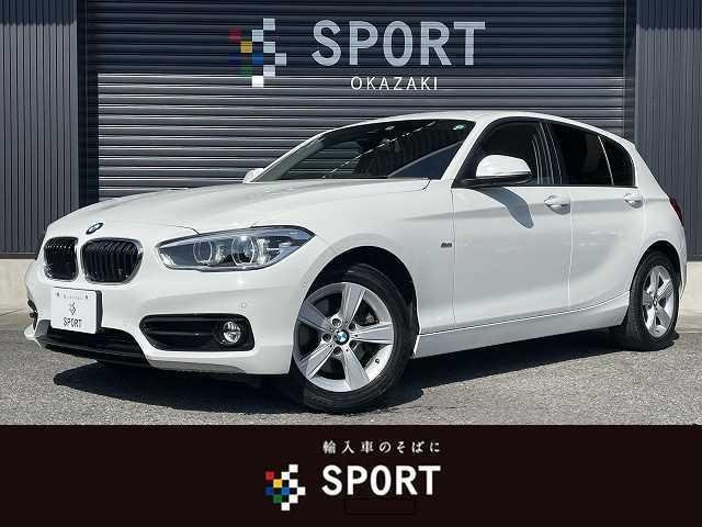 BMW 118d スポーツ 後期モデル ディーゼル インテリセーフ 純正HDDナビ クルーズコントロール 純正アルミホイール LEDヘッドライト プッシュスタート ミラーインETC ステアリングスイッチ