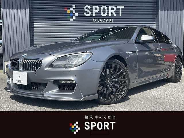 BMW 6シリーズ 640i M Sport サンルーフ 3Dデザイン 本革 ナビTV