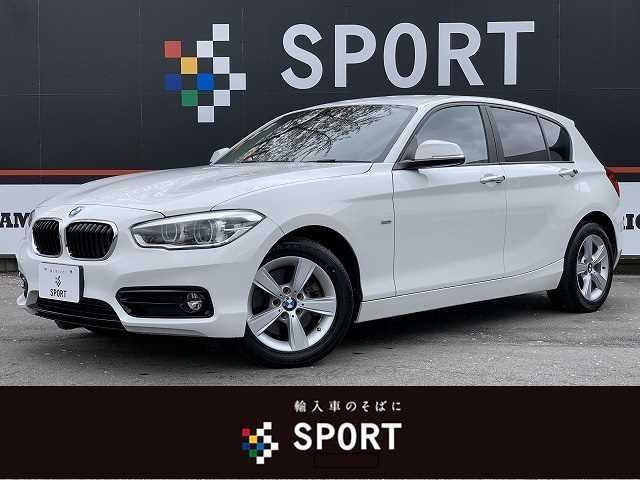 BMW 118d Sport 禁煙 インテリジェントセーフティ 純正HDDナビ クルコン Bカメラ LEDヘッド コンフォートアクセス DVD再生 ブルートゥースOK