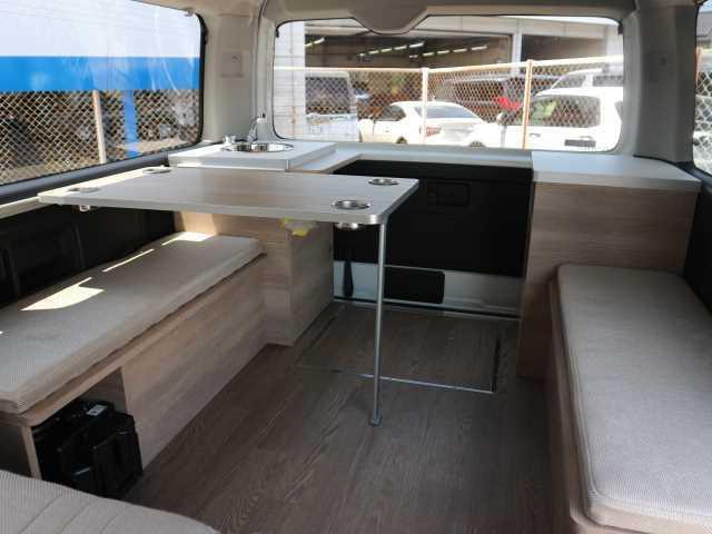 トヨタ GL オリジナルキャンパー仕様 Virgo FASPシート 水道 床張り 2人就寝 テーブル ナビ バックカメラ 衝突軽減ブレーキ パワースライド LEDヘッド FFヒーター スマートキー