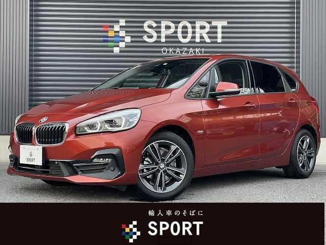 BMW 218dアクティブツアラー スポーツ 後期LCIモデル コンフォートアクセス インテリセーフ 純正HDDナビ Bカメラ ETC 電動リアゲート ハーフレザーシート シートヒーター LEDヘッドライト 純正AW