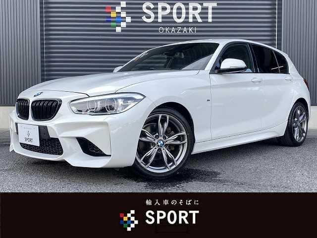 BMW 118i M Sport RHD インテリジェントセーフティ オートクルーズコントロール 柿本マフラー M2ルックバンパー M135iホイール 純正HDDナビ CD DVD Bluetooth LEDヘッドライト ETC