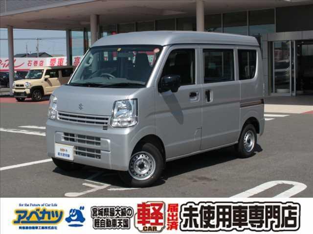 スズキ PA 5速MT 軽バン 4WD 届出済未使用車