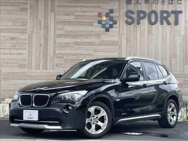 BMW X1 sDrive 18i HIDヘッドライト ブラックレザーシート バックカメラ シートヒーター ETC プッシュスタート 純正ナビ