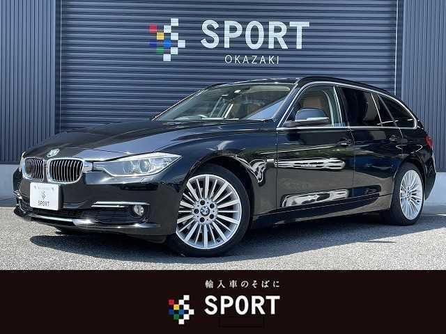 BMW 320d BluePerformance Luxury ブラウンレザーシート 純正OP18インチAW 純正HDDナビ バックカメラ ミラー一体型ETC シートメモリー シートヒーター HIDヘッドライト 電動リアゲート コンフォートアクセス