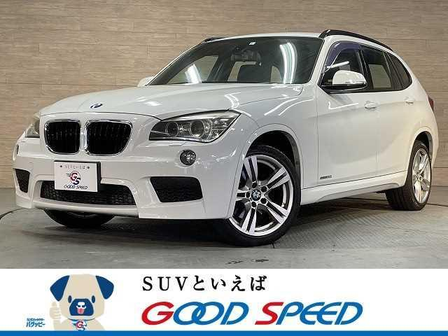BMW X1 sDrive 20i Mスポーツ 純正ナビ コンフォートアクセス オートエアコン ETC ルーフレール HID 純正アルミ
