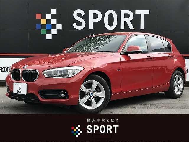 BMW 1シリーズ 118d スポーツ 純正ナビ バックカメラ パークディスタンスコントロール クルコン インテリジェントセーフティ ETC ステアリングスイッチ