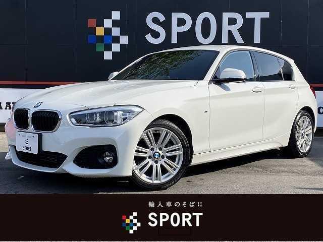 BMW 118d Mスポーツ 純正ナビ バックカメラ ETC インテリジェントセーフティ クルコン レーンディパーチャー 純正アルミ LEDヘッドライト パークディスタンスコントロール