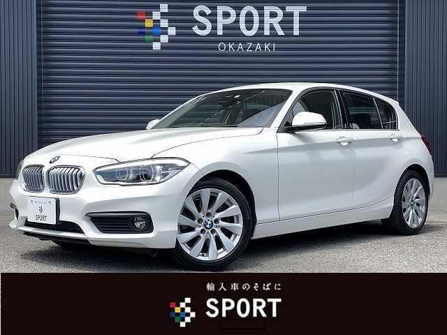 BMW 1シリーズ 118i セレブレーションエディション マイスタイル 400台限定車 黒革 インテリジェントセーフティ クルーズコントロール 純正HDDナビ バックカメラ ミラー型ETC シートヒーター 純正AW