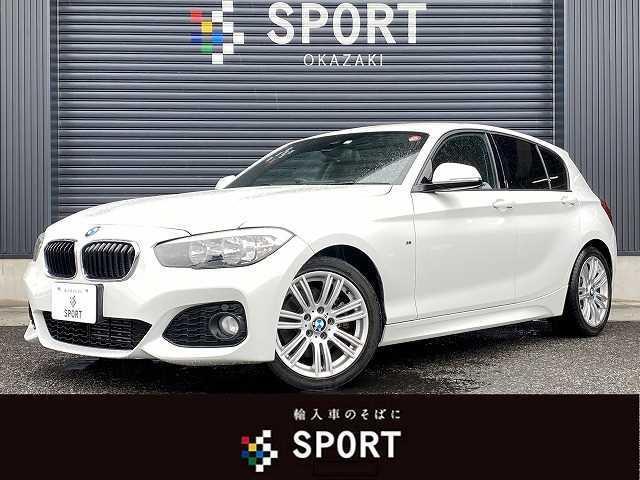BMW 1シリーズ 118d Mスポーツ 弊社下取り車両 インテリジェントセーフティ クルーズコントロール 純正HDDナビ Bカメラ ミュージックサーバー Bluetooth接続 オートエアコン 純正AW オートライト