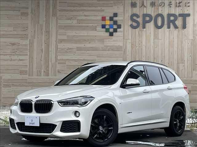 BMW X1 sDrive18i M Sport レーダークルーズコントロール スマートキ 純正HDDナビ ヘッドアップディスプレイ