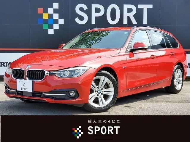 BMW 3シリーズ 320iツーリング スポーツ 純正ナビ インテリセーフ ACC LEDヘッド