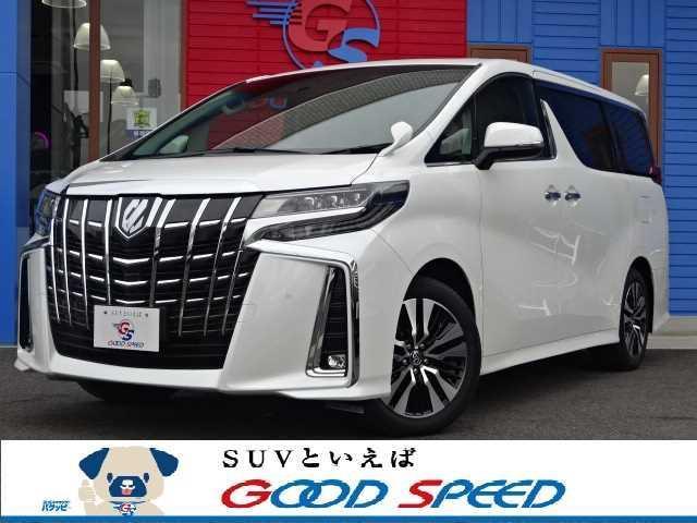 トヨタ アルファード 2.5S Cパッケージ 新車登録 サンルーフ デジタルミラー 黒革シート シーケンシャル シートヒーター&エアコン