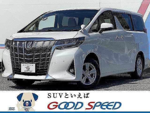 トヨタ アルファード X 8人乗り 新車未登録 ディスプレイオーディオ 両側電動スライドドア スマートキー LEDヘッド レーダークルーズコントロール セーフティーセンス オートハイビーム 純正16インチAW