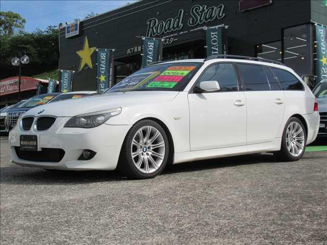 BMW 5シリーズ 525i Mスポーツ 保証付き ナビ バックモニター 純正アルミホイール サンルーフ レザーシート パワーシート