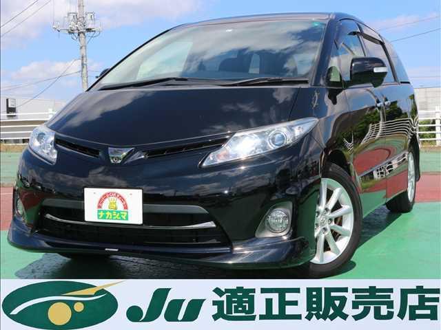 トヨタ エスティマ アエラス G-EDITION 両側パワースライドドア/HDDナビ/ETC/HID/スマートキー