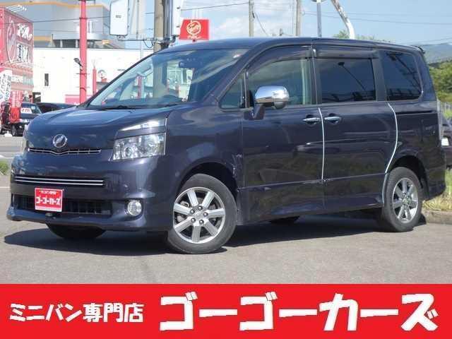 トヨタ ヴォクシー ZS 煌 8人 4WD 両側電動スライドドア HDDナビ フルセグTV フリップダウンモニター バックカメラ 障害物センサー タイミングチェーン