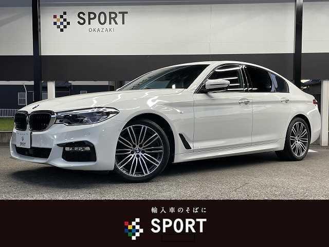 BMW 523d M Sport アクティブクルーズコントロール インテリセーフ アラウンドビューモニター 純正ナビTV 純正19AW