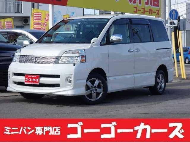 トヨタ ヴォクシー Z 煌 4WD ワンオーナ 両側電動スライド HDDナビ バックカメラ オーバーヘッドコンソール HID ETC タイミングチェーン