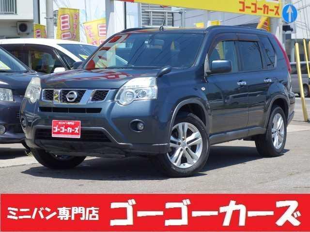 日産 エクストレイル 20X 4WD HDDナビ DVD ワンセグTV Bluetooth バックカメラ シートヒーター ETC HID タイミングチェーン