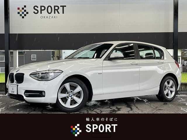 BMW 1シリーズ 116i Sport HIDヘッドライト 純正ナビ アイドライブ スポーツ専用16AW スポーツ専用シート