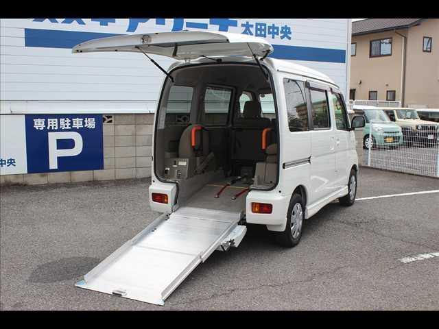スバル  トランスケア スロープタイプ 福祉車両 非課税 ナビ TV ETC ドラレコ キーレス