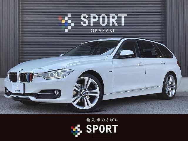 BMW 3シリーズ 320dツーリング スポーツ 純正ナビ バックカメラ キセノンヘッドライト 純正19インチアルミ クリアランスソナー LIM フォグランプ Bluetoothオーディオ シートメモリ付きパワーシート プッシュスタート