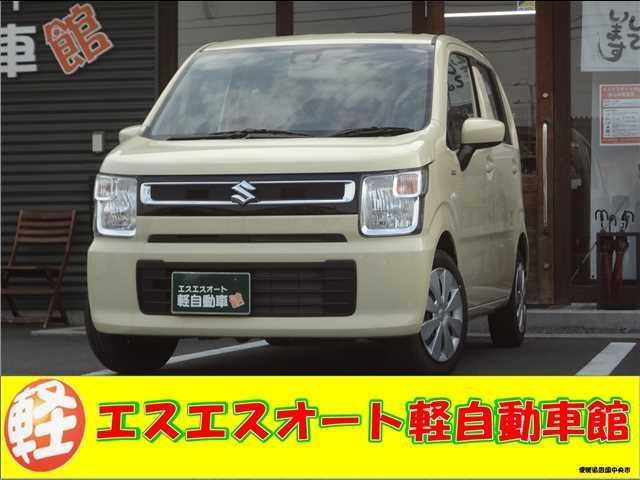 スズキ HYBRID FX CDプレーヤー装着車 ブラック内装 届出済未使用車