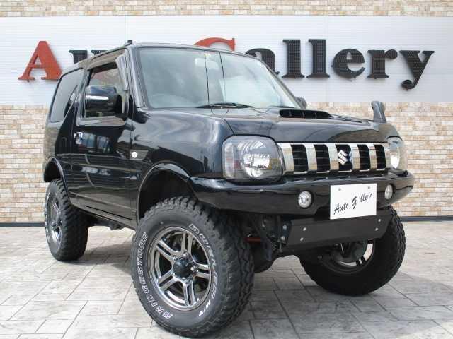 スズキ ジムニー ランドベンチャー 4WD ターボ MT5速 リフトアップ 社外マフラー