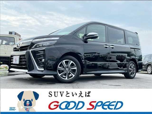 沖縄の中古車 トヨタ ヴォクシー 車両価格 249.8万円 リ済別 2020(令和2)年 0.7万km ブラック
