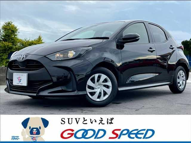 沖縄の中古車 トヨタ ヤリス 車両価格 125.8万円 リ済別 2020(令和2)年 1.3万km ブラック